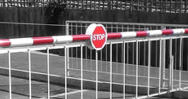 security barriers for road